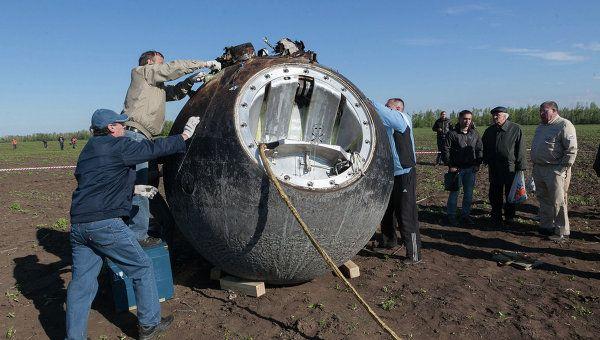Причины падения зрения у космонавтов стали известны благодаря биоспутнику «Бион-1М»