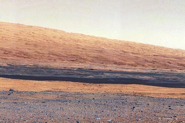 Поверхность Марса - Снимок марсохода Curiosity