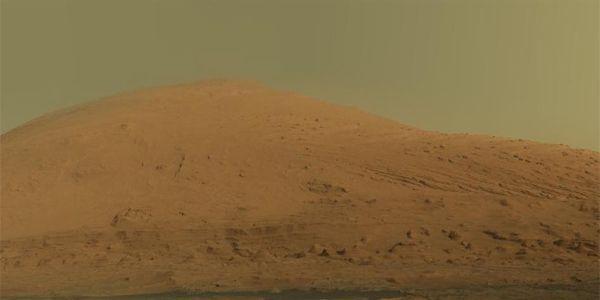 Горы на Марсе образовались из-за ветров