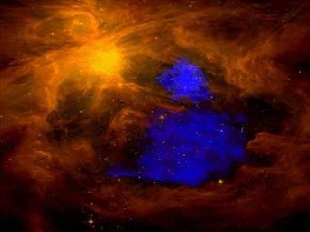 """Ученые нашли """"нити"""" соединяющие галактики"""
