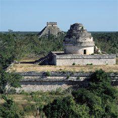 найдена древняя обсерватория майа