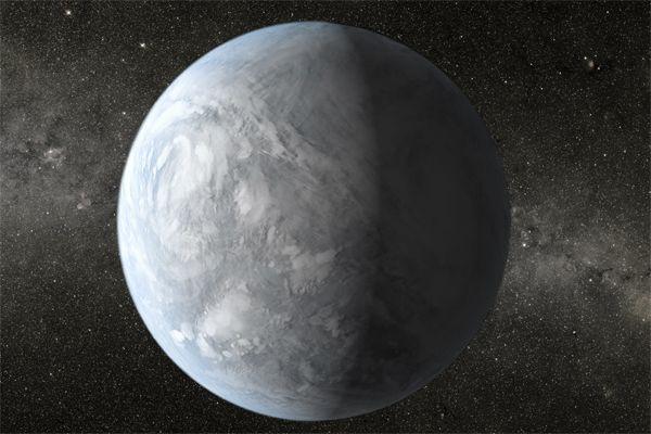 Планета Kepler-62e