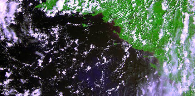 снимок со спутника Proba-V