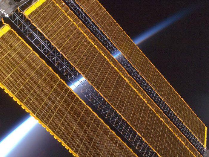 Электричество добытое из Солнечной энергии является главным топливом в космосе