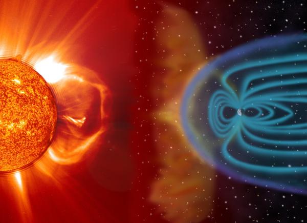 Магнитная буря может обрушиться на Землю из-за солнечной «гусеницы»