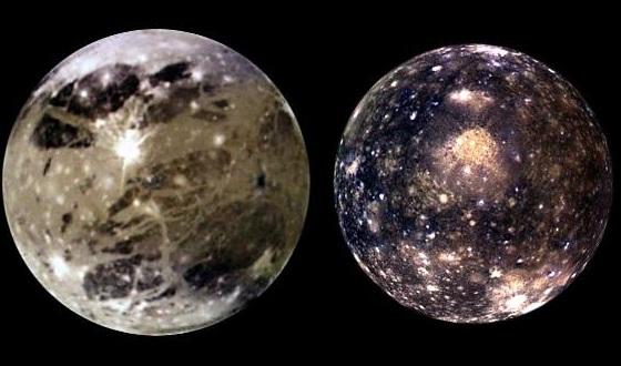 Ученым впервые удалось составить геологическую карту спутника Юпитера Ганимеда