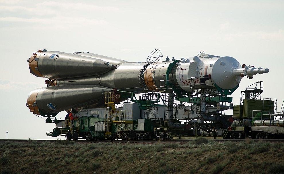На Байконуре проходят испытания системы «Курс» корабля «Союз ТМА-12М»
