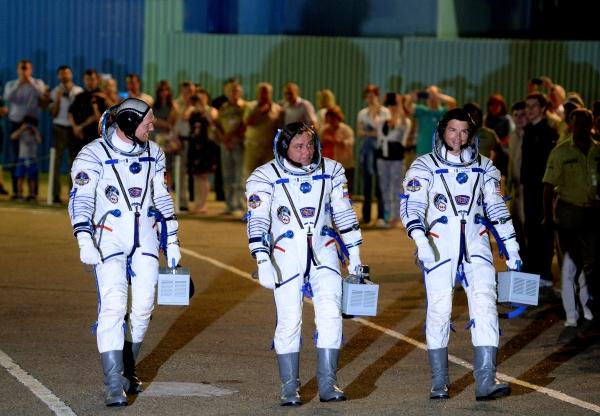 Экипаж «Союза» успешно доставлен на борт МКС