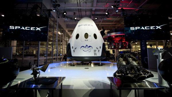 Новая капсула для доставки космонавтов на МКС представлена «SpaceX»