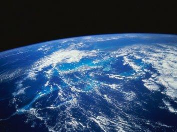 Интерактивный глобус Земли составлен специалистами НАСА