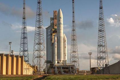 Ракета «Ariane 5» вывела на орбиту спутники Индии с США