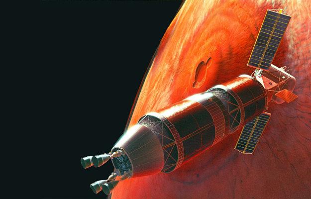 В скором времени на орбиту Марса должен выйти американский научный спутник