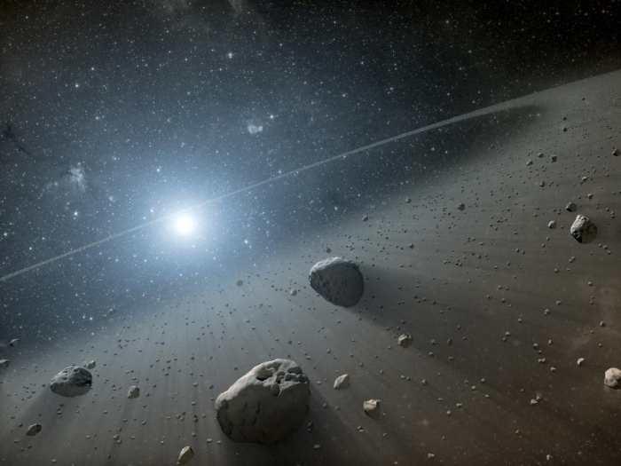 В системе Фомальгаута найден второй пояс астероидов