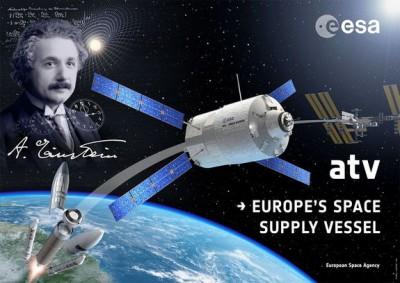 От МКС успешно отстыковался космический грузовой корабль «Альберт Эйнштейн»
