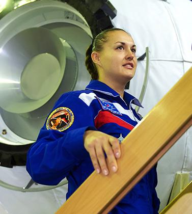 Россия планирует отправить в космос женщину