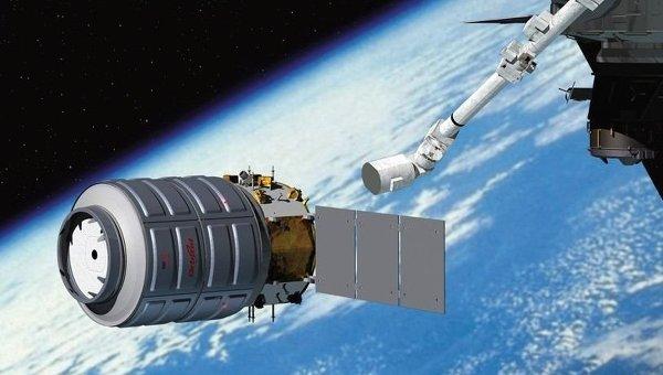 К МКС пристыкован частный американский «грузовик» Cygnus