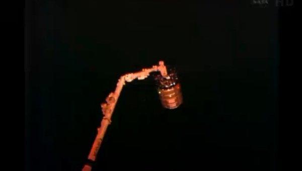 От МКС отстыкован космический грузовой корабль Сygnus