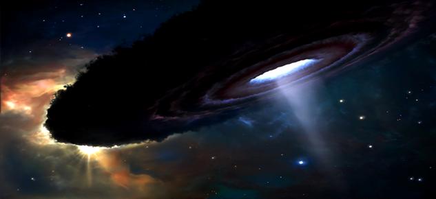 Самая мощная черная дыра обнаружена учеными в космосе