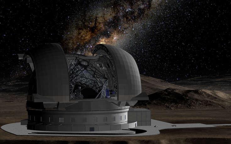 В Чили будет построен мощнейший телескоп E-ELT