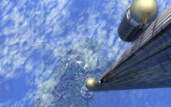 К 2050 году может быть построен «космический лифт»