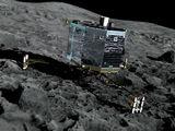 На поверхности кометы Чурюмова-Герасименко работает космический аппарат «Фила»