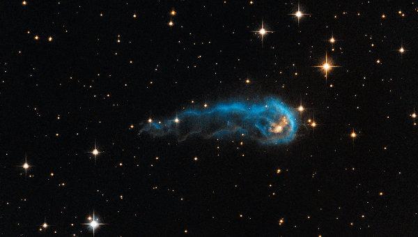 Космический «головастик» был увиден телескопом «Хаббл»