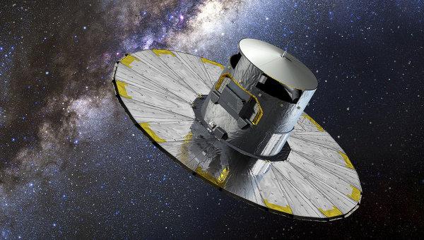Телескоп «Гайя» доставлен в космос РК «Союз-СТ-Б»