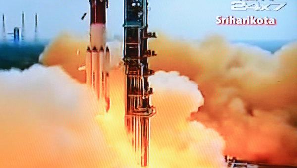 На земную орбиту удалось вывести первый марсианский зонд Индии