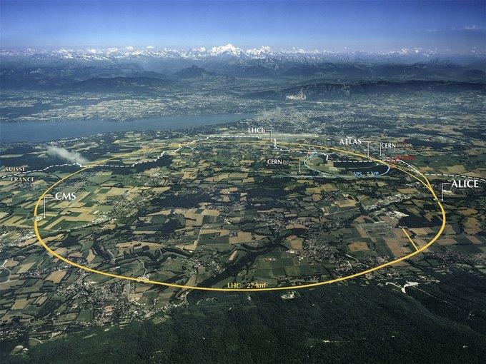 Строительство нового гигантского коллайдера в  планах CERN