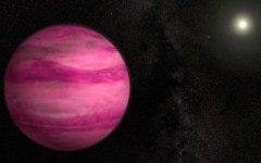 Учеными была открыта розовая планета, происхождение которой не понятно