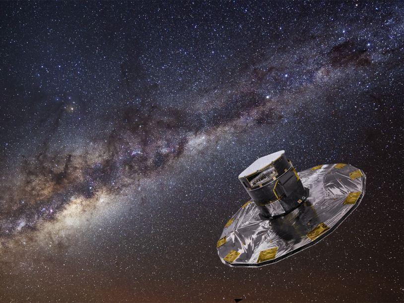 Первый снимок сделан космическим телескопом «Гайя»