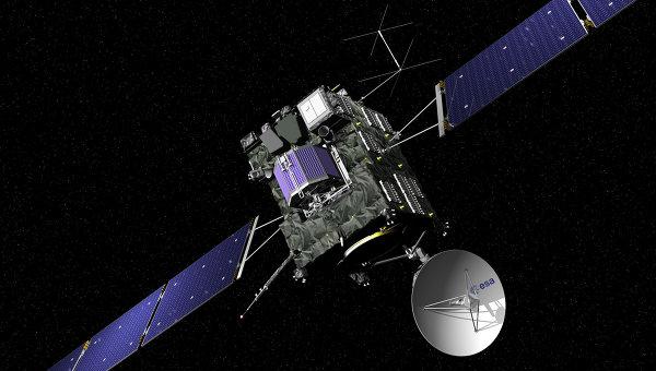 Отстыковавшийся от аппарата «Rosetta» робот «Philae» направился к комете