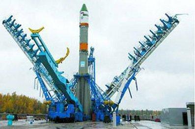Установлена ракета