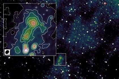 Галактика-загадка найдена рядом с Землей