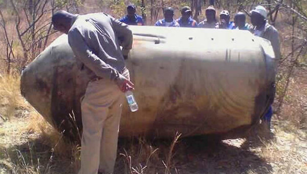 СМИ сообщают о падении в Зимбабве фрагментов американской ракеты